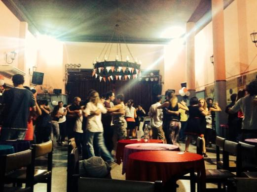 Salon Malcolm dance class - Buenos Aires