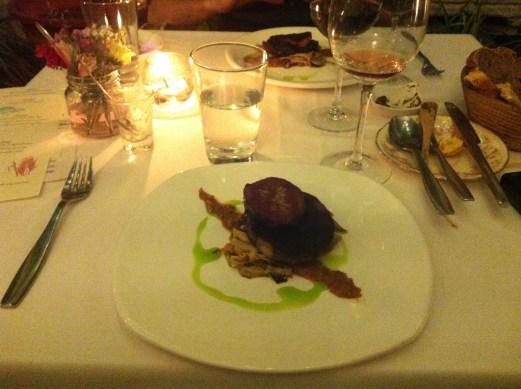 colectivo felix main course aubergine and shitaki - Buenos Aires