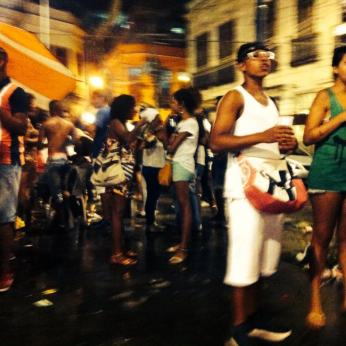 street party crowd