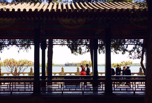 Summer Palace lake view 2