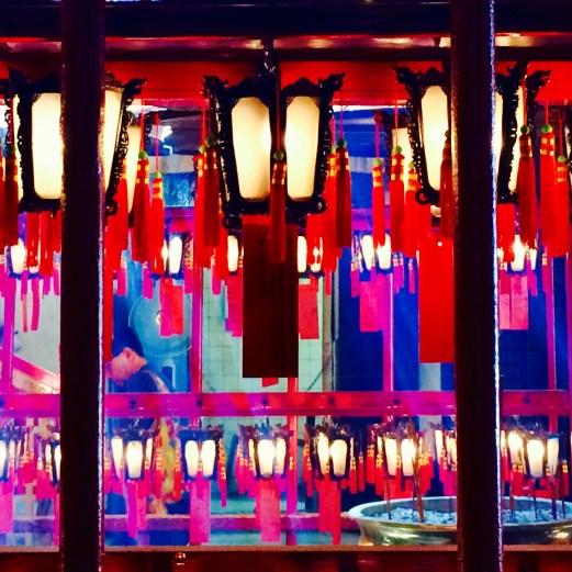 lanterns in temple