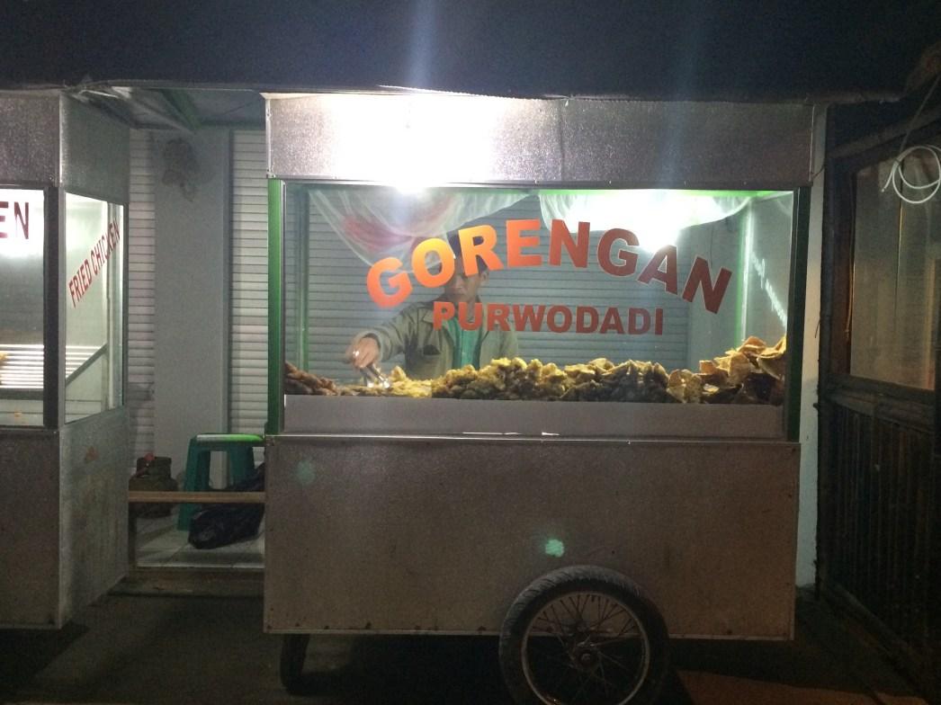 Gili Air food cart