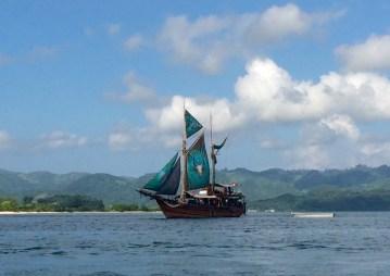 Gili Gede - Lombok sailboat