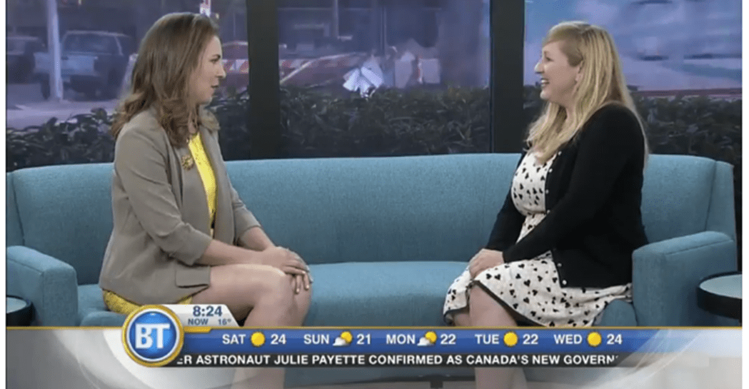Lily on Breakfast Television Vancouver