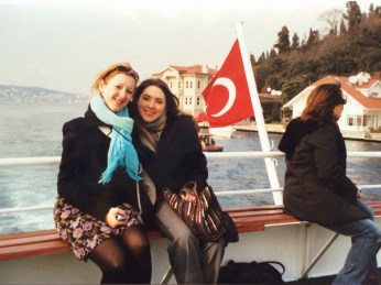 Lily and Special K in istanbul