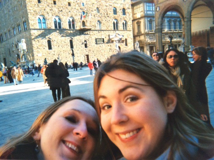 Lily and Special K in Florence