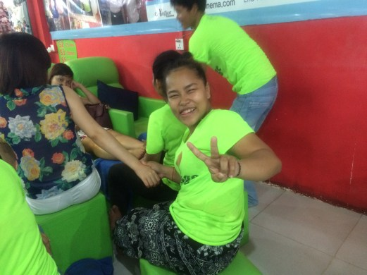 Cambodian massage parlor