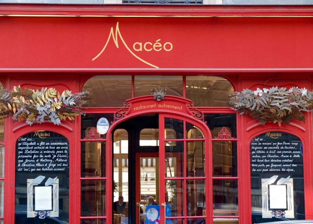 Maceo Paris Restaurant