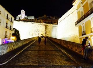 Ibiza Town drawbridge
