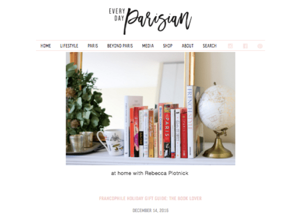 Lily's Books Every Day Parisian