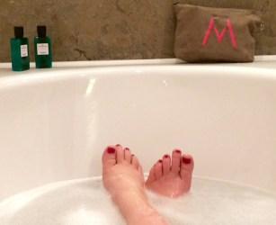 Hotel Villa Madame bath