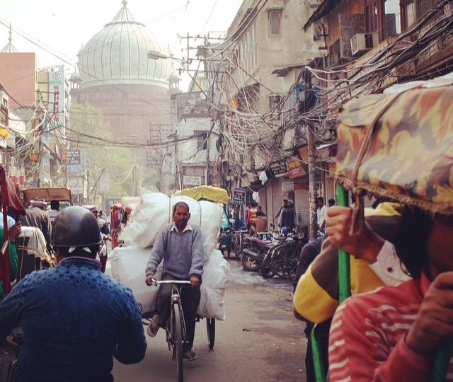 Old-Delhi-Traffic