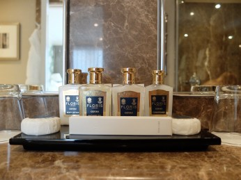Stafford London Hotel suite toiletries