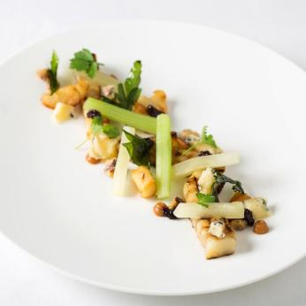 Celeriac Cooked Over Coal. Photo Credit: Stafford Hotel