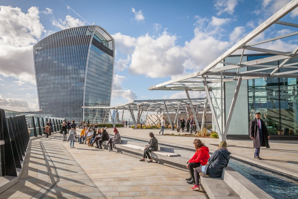 The Garden at 120 Fenchurch Street London