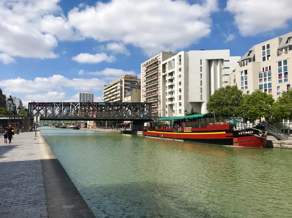 Canal de l'Ourcq Paris 75019