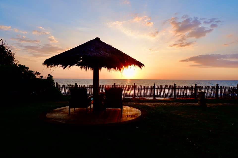 The Reef Villa & Spa sunset