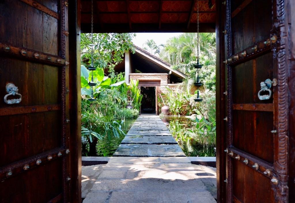 Reef Villa and Spa entrance