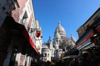 sacre coeur view paris