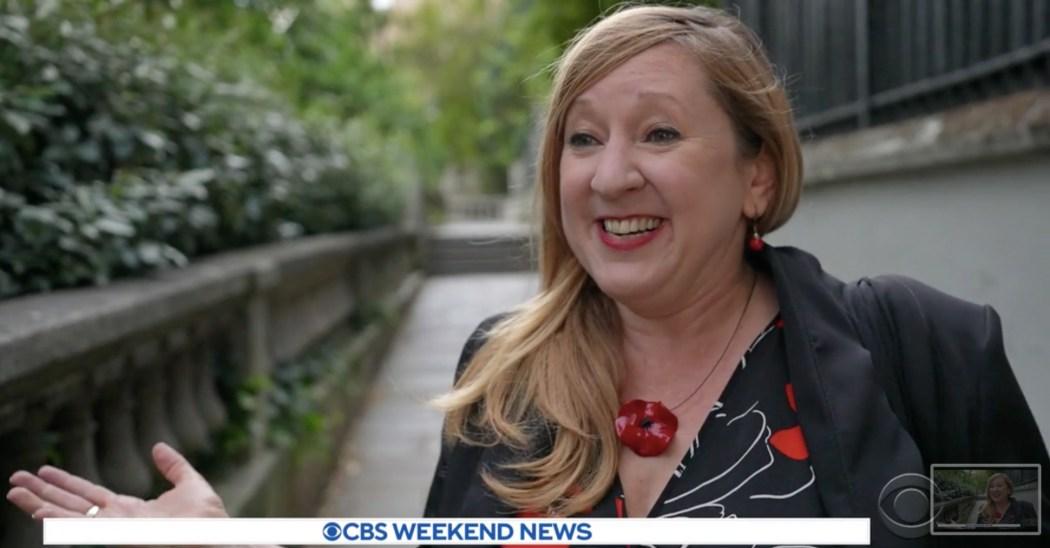 Lily on CBS News!