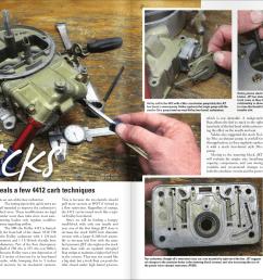 circle track racing carburetors with one dirt magazine [ 1382 x 953 Pixel ]