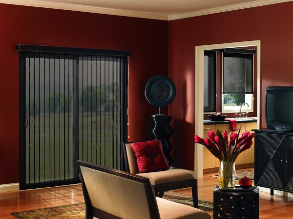 Vertical Blinds Sliding Glass Door