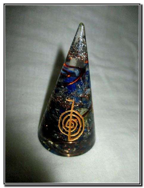 Lapis Lazuli orgone Cone Antenna