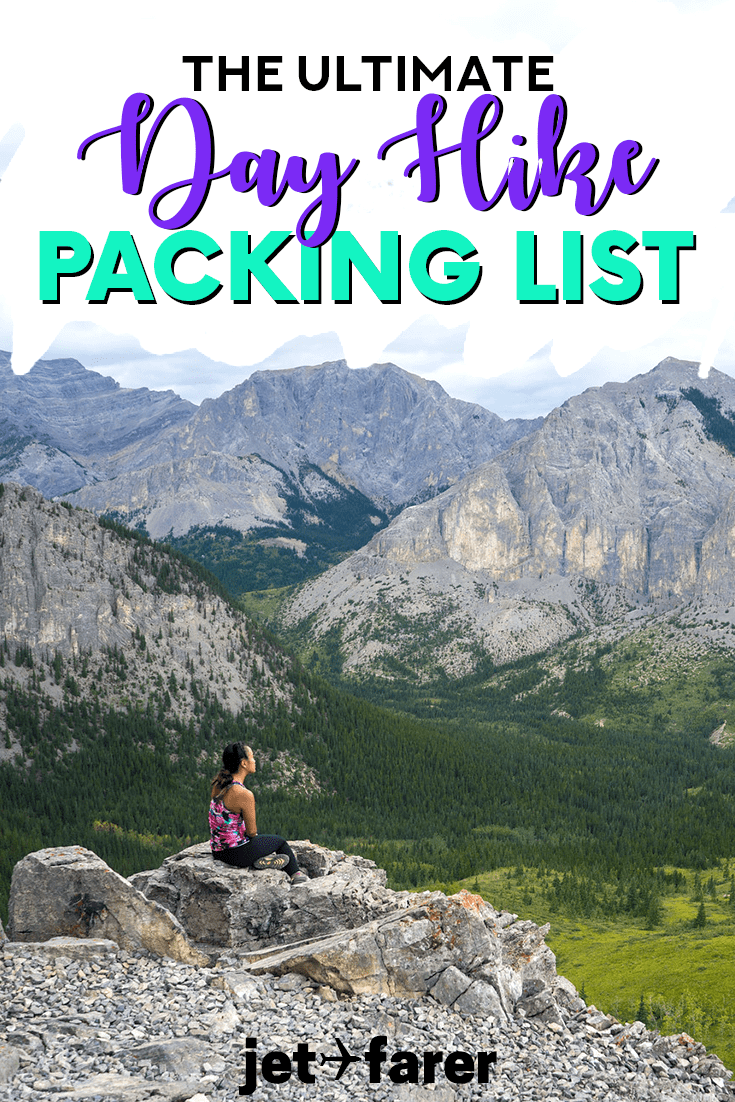 Going hiking? Make sure you've got everything you need with our ultimate day hiking packing list! #Hiking #Travel #PackingList