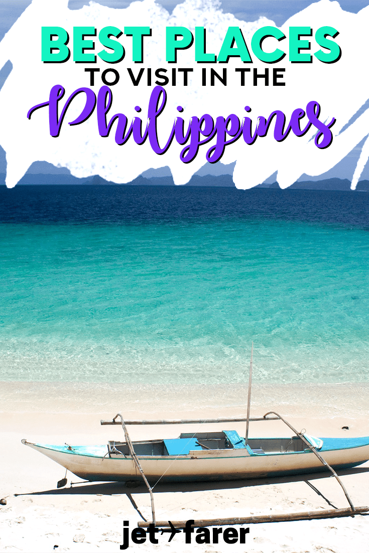 Interested in traveling to the Philippines? This post might inspire some (or all) of your itinerary, with 30 of the BEST places to visit in the Philippines. This underrated country is one of the most beautiful in the world. Click through to learn more and see jaw-dropping photos! #Philippines #Asia #Travel #Beach