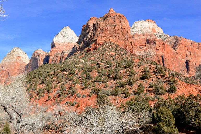 West Rim Trail in Zion