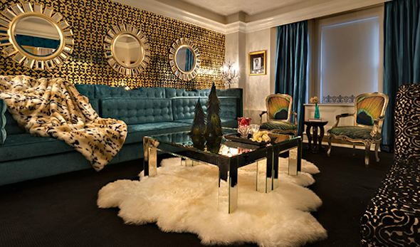 NYC Carlton Hotel Hip New Themed Suites