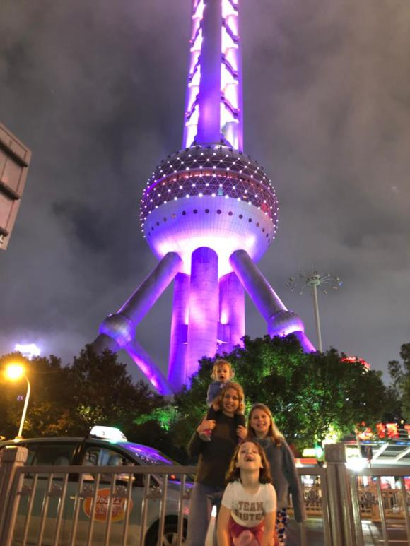 The Oriental Pearl tower in Pudong. Things to do in Shanghai for a day