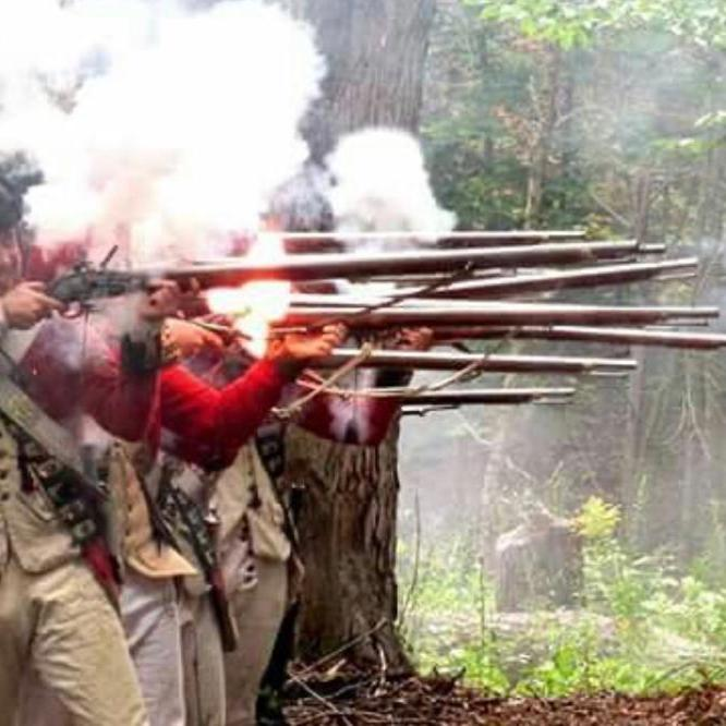 Fort Ticonderoga civil war reenactment on the best road trips USA