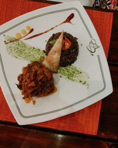 plate of ropa vieja at El Bicky