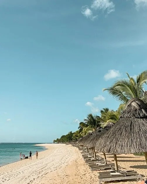 One of the many beaches in Mauritius for an amazing solo female travel destination