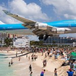 Woman dies after jet blast at Airport: St Maarten beach
