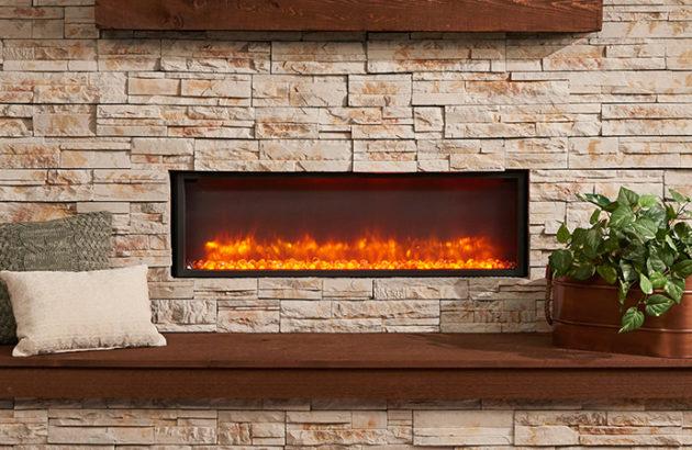 Inbuilt Electric Fireplace  Jetmaster Heat  Glo