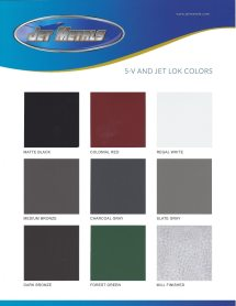Atas Color Chart Kynar - Year of Clean Water