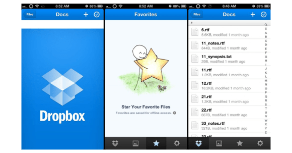 Dropbox - Busy Season Productivity App