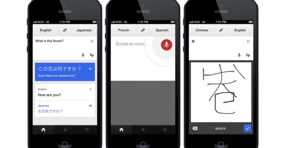 Google Translate - Busy Season Productivity App