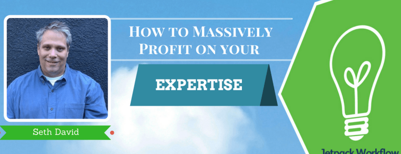 profit on your expertise
