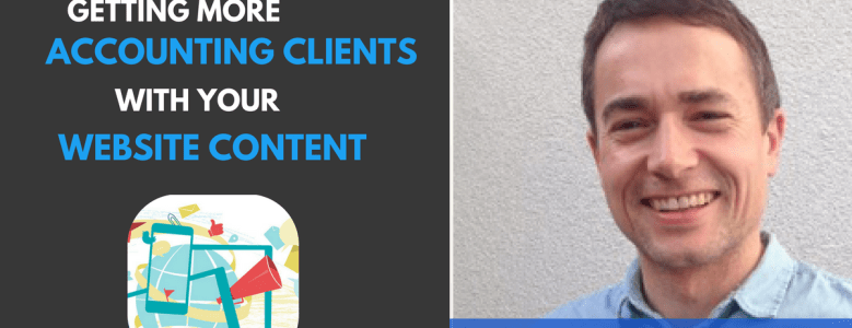getting more accounting clients with your website content
