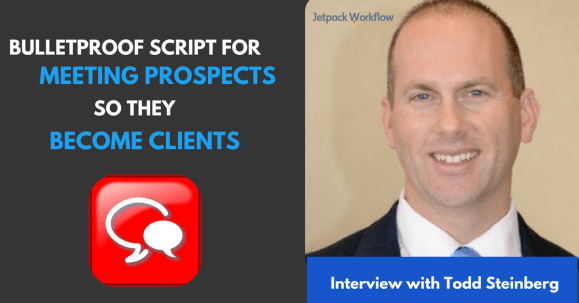 script for meeting prospects
