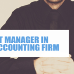 Project manager in your accounting firm