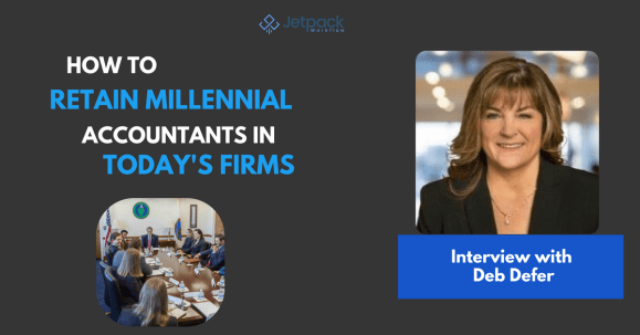 retain millennial accountants