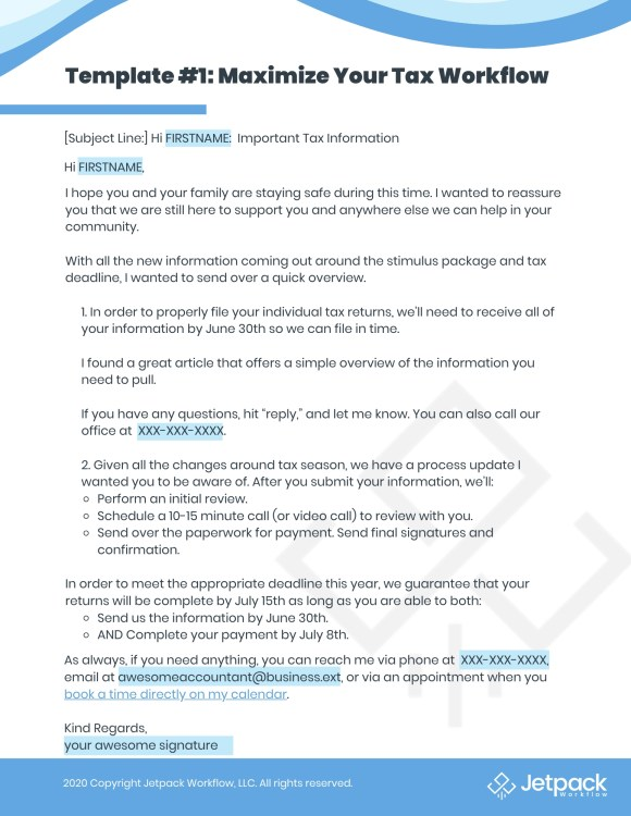 recession proof business email template 1