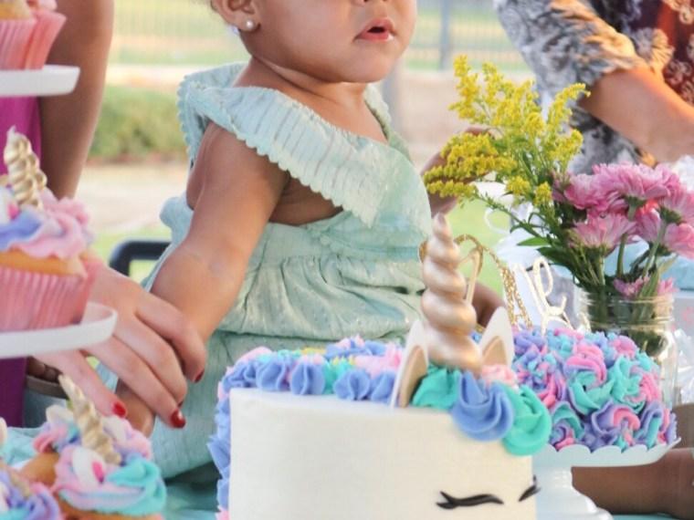 Maya's Magical Unicorn First Birthday