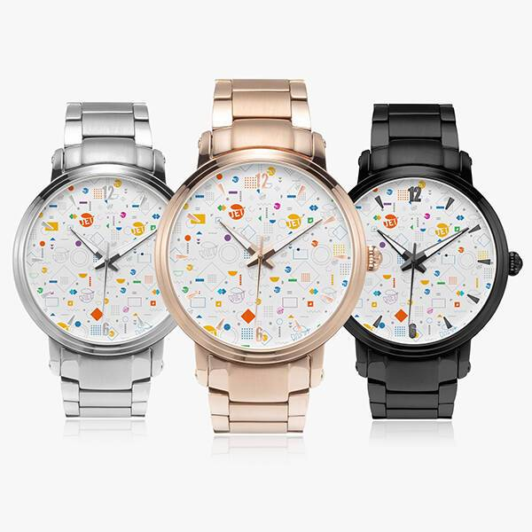 Print On Demand Automatic Watch