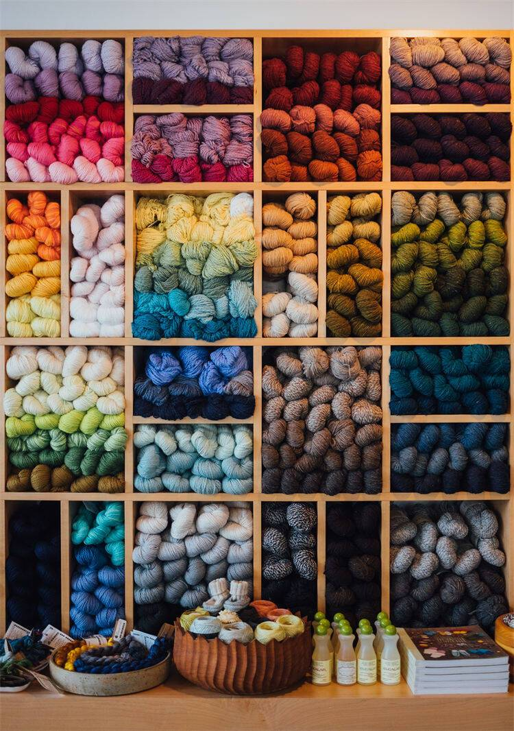 Colored Wool Fabric