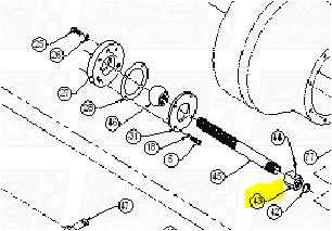 Steering Tube Seals Kit fit HTRII RSK2101-R1007 — Fig. No